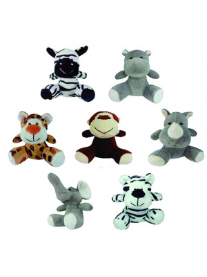 Kit com 40 Bichinhos do Safari - ALT: 10 cm x LARG: 8 cm