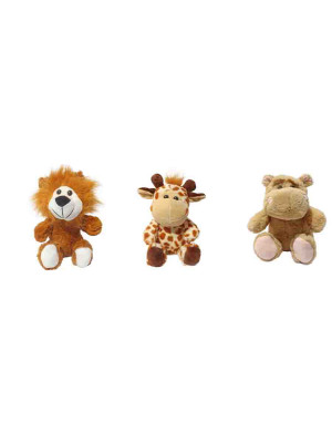 Kit com 50 Bichinhos do Safari - ALT: 20 cm x LARG: 17 cm